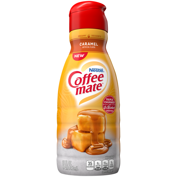 Caramel Flavored Coffee Creamer 32oz Official Coffee Mate