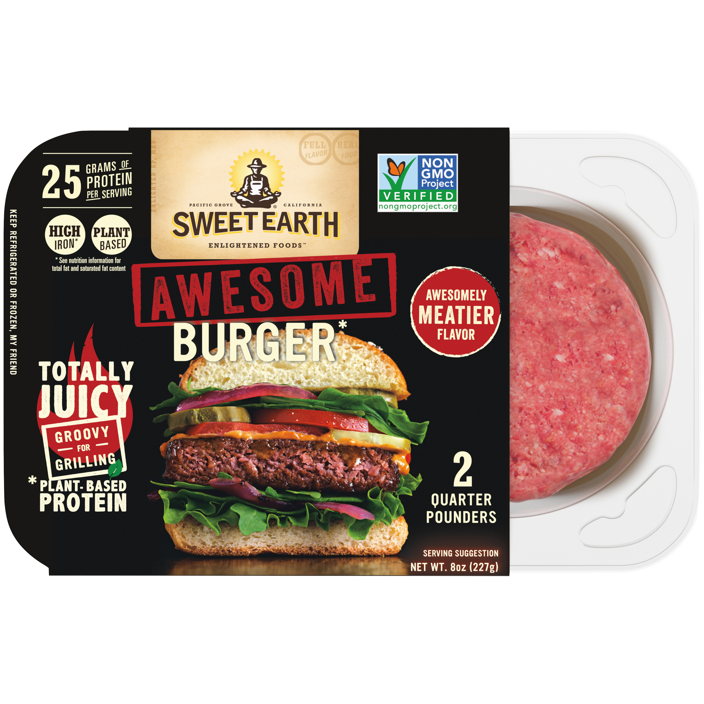 Awesome Burger Official Sweet Earth Foods