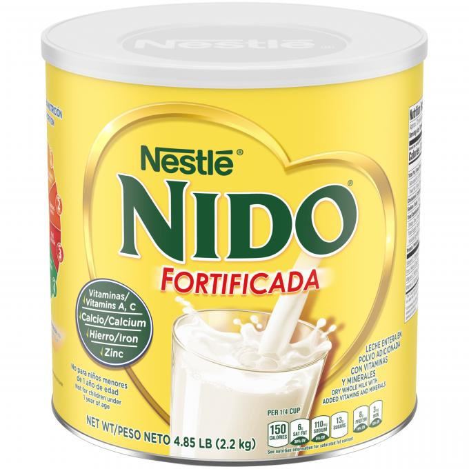 NIDO Fortificada Dry Whole Milk Beverage 77.6 oz | Nestlé NIDO®