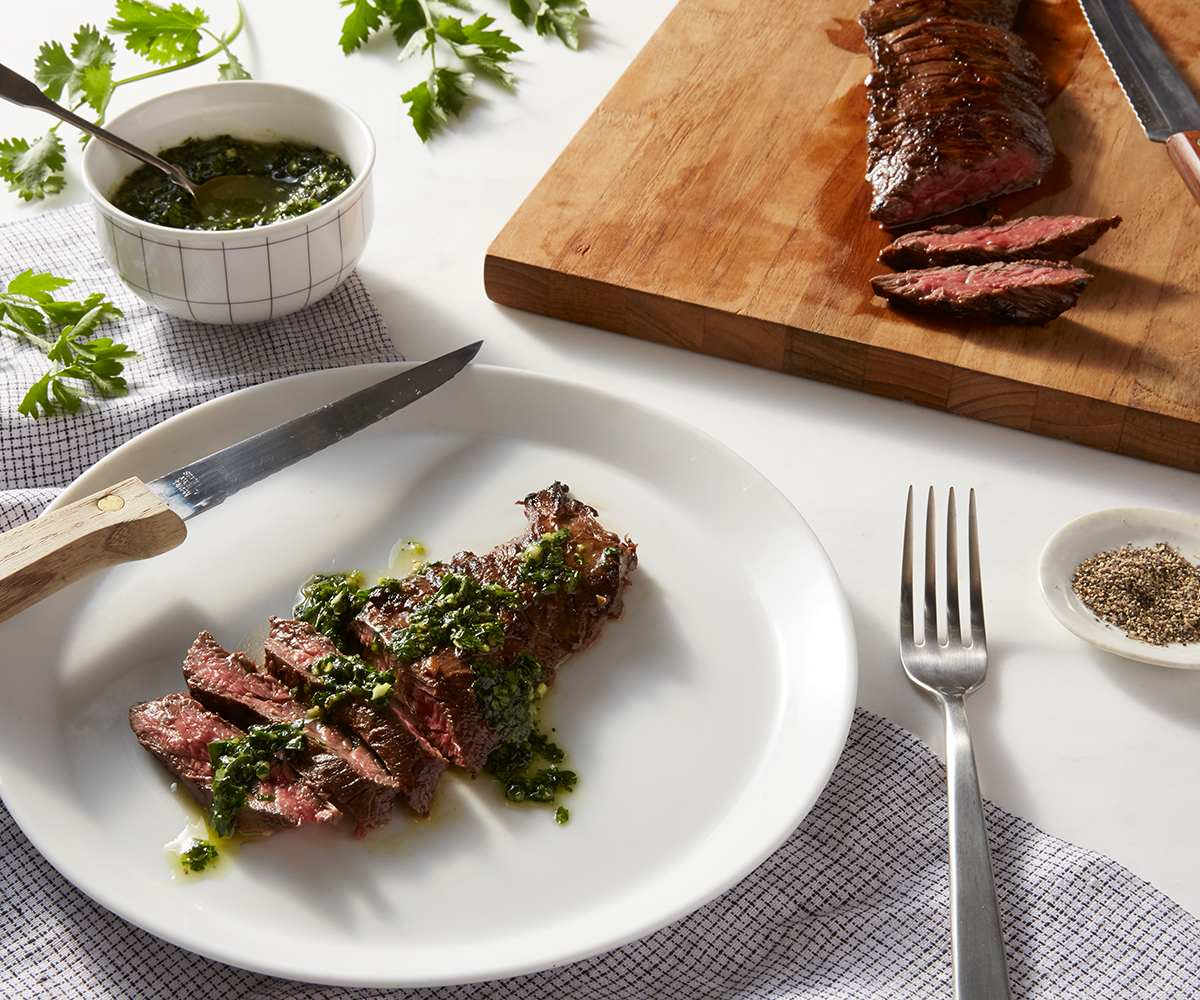 Arrachera (Skirt Steak) with Chimichurri