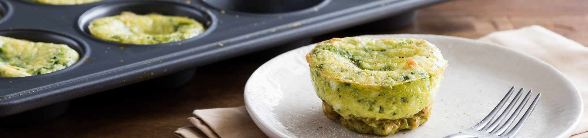 Spinach Souffle Egg Muffin Cups